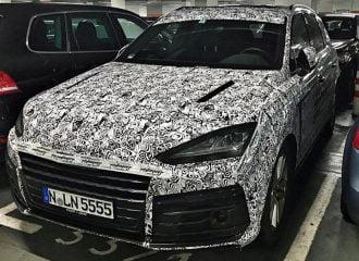Πρώτη κατασκοπευτική εικόνα της Lamborghini Urus