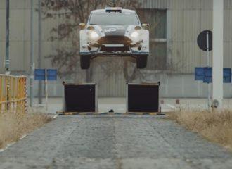 H Ford το γιόρτασε με drift και άλματα (+video)