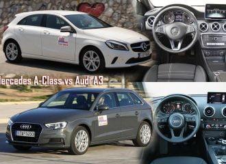 Συγκριτικό Mercedes A-Class diesel VS Audi A3 diesel