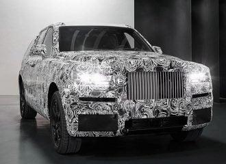 Πρώτη εμφάνιση του νέου SUV Rolls-Royce Cullinan