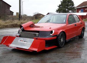 Αγωνιστικό τέρας Saab 9-5 με έως 800 PS για 29.000 ευρώ!