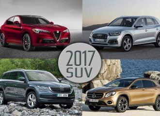 Τα Top 10 νέα SUV του 2017!