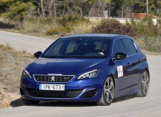 Δοκιμή Peugeot 308 GT ντίζελ 2.0 BlueΗDi 180 PS