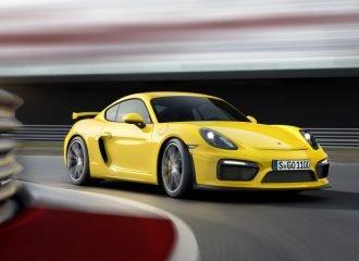 Η Porsche ετοιμάζει τη νέα Cayman GT4 RS