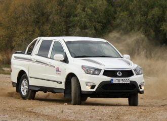 Δοκιμή SsangYong Actyon Sports 2.0 Diesel 4WD