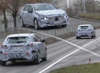 Παπαράτσι «συνέλαβε» δύο νέες Mercedes A-Class (video)