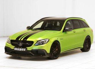 Πράσινη κόλαση Mercedes-AMG C 63 S με 650 ίππους