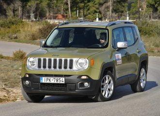 Δοκιμή Jeep Renegade 1.4T 4×4 170 PS Auto