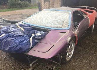 Βρέθηκε εγκαταλελειμμένη μία από τις 150 Lamborghini Diablo SE30