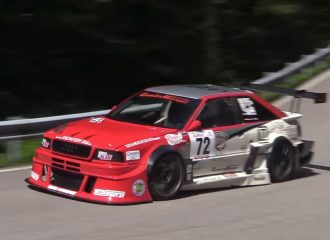 Audi S2 R Quattro σηκώνει την τρίχα κάγκελο! (video)