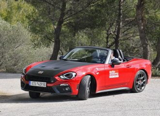 Δοκιμή Abarth 124 Spider 170 hp AT