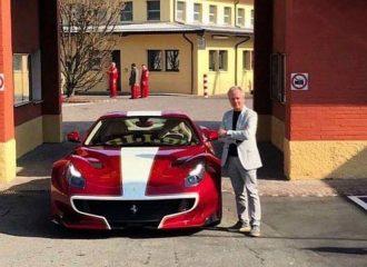 Η «απαγορευμένη» φωτογραφία του Pagani με τη νέα του Ferrari