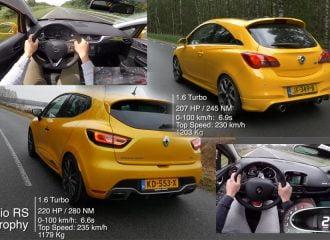 Μονομαχία: Opel Corsa OPC vs Renault Clio RS Trophy