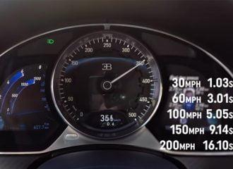 Δείτε τη Bugatti Chiron να επιταχύνει από 0-350 χλμ./ώρα!