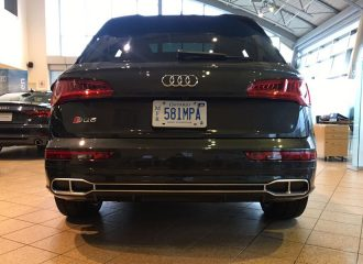 Ψεύτικες οι εξατμίσεις στο Audi SQ5!