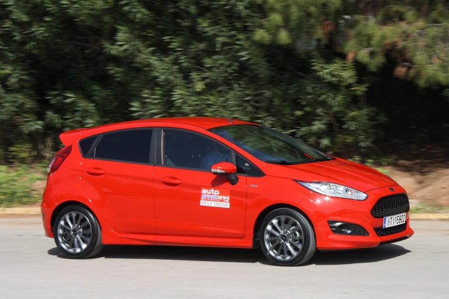 δοκιμή Ford Fiesta St Line 10 λτ 125 Ps Autogreeknews
