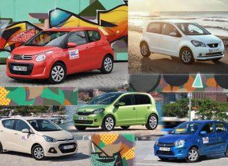 Τα πιο οικονομικά αυτοκίνητα πόλης έως 10.000 ευρώ