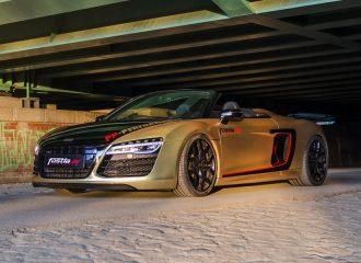 «Αγριεμένη» βελτίωση για το Audi R8 V10 Spyder