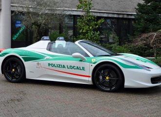 Ferrari της Ιταλικής Μαφίας γίνεται περιπολικό στο Μιλάνο!