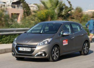 Δοκιμή Peugeot 208 diesel 1.6 BlueHDi 100