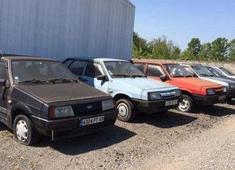 Παρατημένη έκθεση Lada βρέθηκε στη Γαλλία