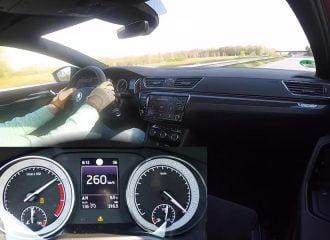 0-260 χλμ./ώρα με Skoda Superb 2.0 TSI 280 PS 4×4 (video)
