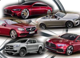 Όλες οι νέες Mercedes του 2017-2018