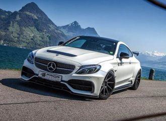 Σοκ και δέος από τη βελτιωμένη Mercedes C-Class Coupe της Prior Design