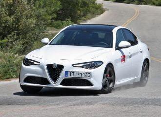 Δοκιμή Alfa Romeo Giulia 2.2 Diesel 180 PS AT8