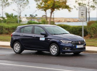 Δοκιμή Fiat Tipo Hatchback diesel 1.3 MTJ 95 HP