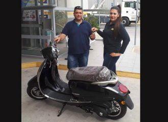 O 5ος νικητής του scooter που προσφέρει ο MrΚΤΕΟ