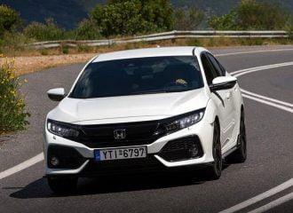 Οδηγούμε το νέο Honda Civic 1.0 και 1.5 VTEC TURBO