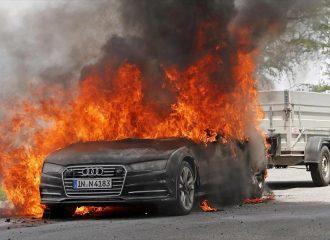 Λαμπάδιασε Audi A7 στις δοκιμές εξέλιξης