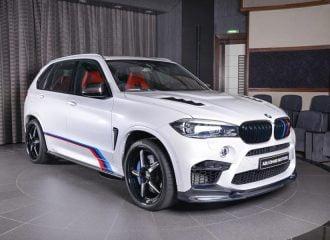 Εντυπωσιακή BMW X5 M με αγωνιστική εμφάνιση