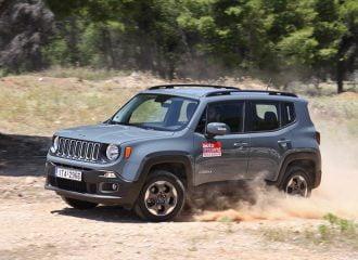 Δοκιμή Jeep Renegade 2.0 Mjtd 140hp 4×4