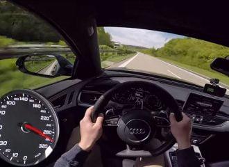 Ιπτάμενο Audi RS 6 Avant 750 ίππων (video)