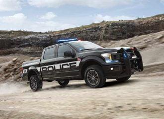 Η Ford παρουσιάζει το πρώτο περιπολικό pick-up ειδικά για καταδίωξη