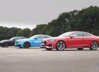Κόντρες με ανατροπές: Audi RS 5 vs BMW M4 vs Mercedes-AMG C 63 S