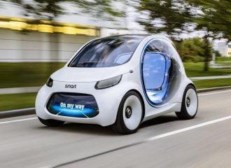 smart vision EQ fortwo: Το μέλλον στην πόλη (+video)