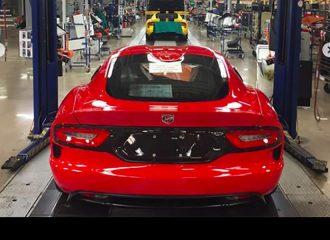 Το τελευταίο Viper βγήκε από τη γραμμή παραγωγής της Dodge…