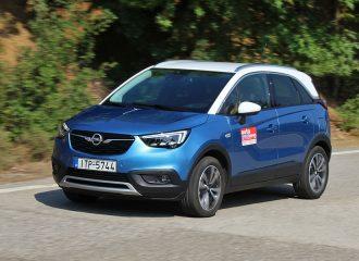 Δοκιμή Opel Crossland X 1.2 λτ. Turbo 110 hp