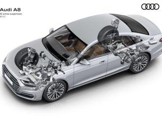 Πως λειτουργεί η δυναμική ανάρτηση στο νέο Audi A8 (videos)
