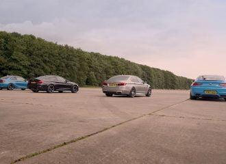 Επικές κόντρες μεταξύ BMW M2, M4, M5 και M6 (video)