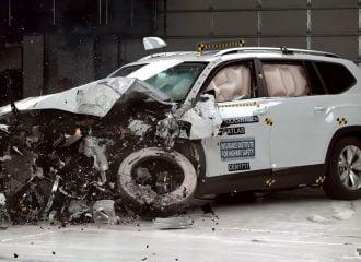 Τα φώτα «έκαψαν» το VW Atlas σε τεστ ασφαλείας (+video)