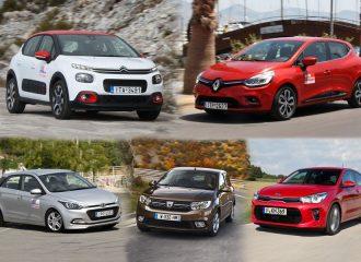 Top 5 φθηνότερα μικρά diesel της αγοράς