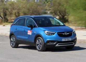 Δοκιμή Opel Crossland X 1.6 diesel