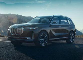 Αποκάλυψη της νέας BMW Concept X7 iPerformance (+video)