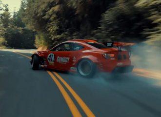 Το Toyota GT 86 με το μοτέρ Ferrari τράκαρε σε γύρισμα… (+video)