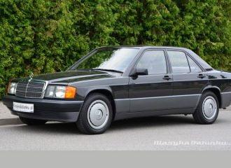 Ξεχασμένη Mercedes 190 σε τιμή… καινούριας!