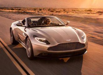Νέα Aston Martin DB11 Volante με μοτέρ Mercede-AMG (+video)